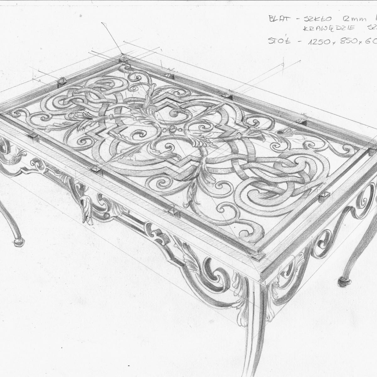stół 1.