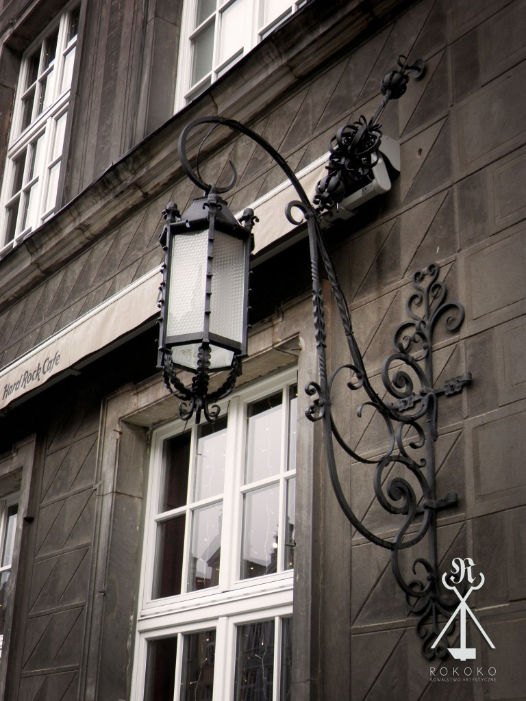 lampy ogrodowe kute